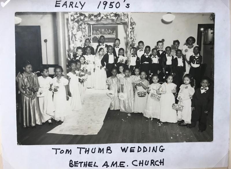 Bethel A.M.E. Church- Tom Thumb Wedding 1950s