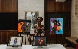 Student Artist Nala Johnson